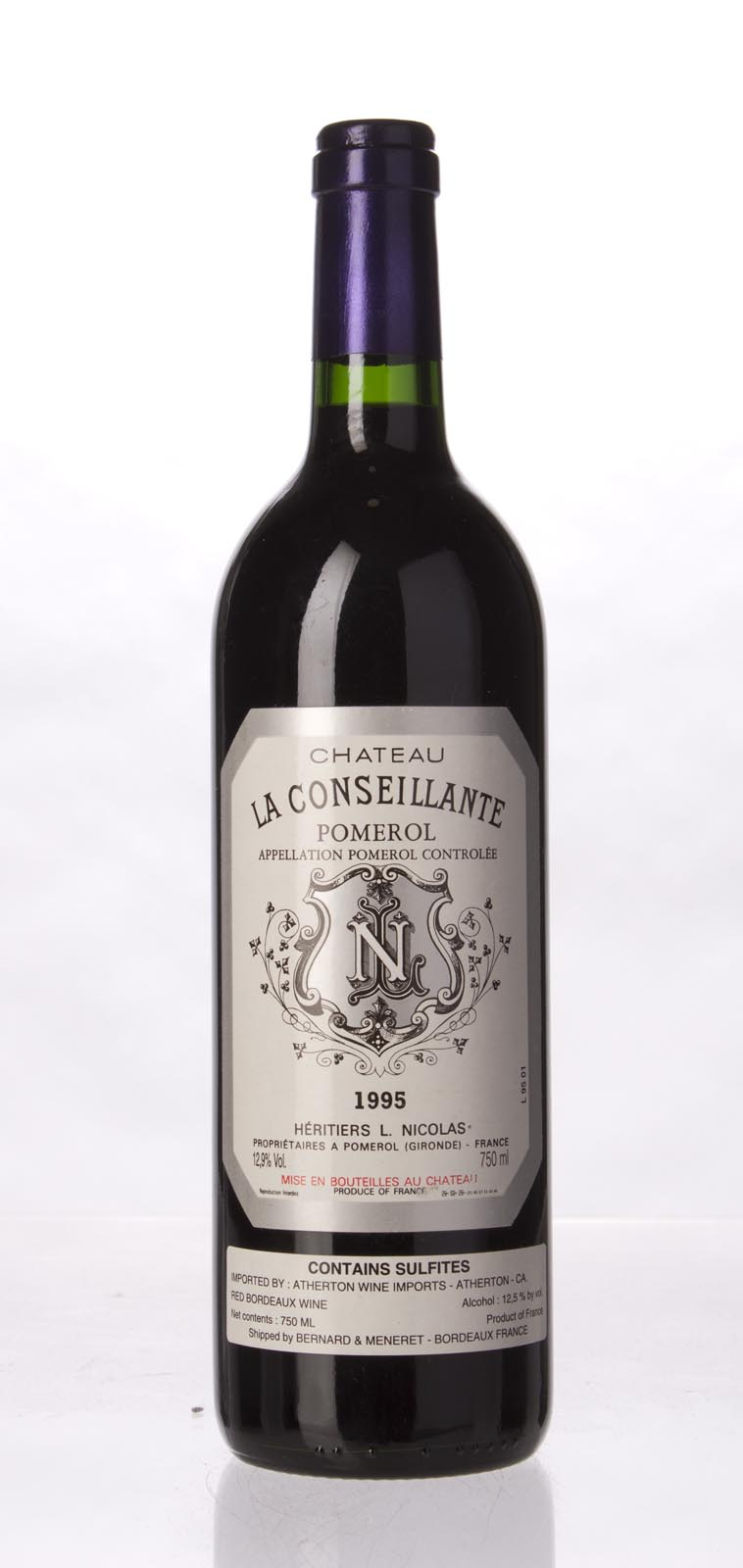 La Conseillante 1995, 750mL (WS94) from The BPW - Merchants of rare and fine wines.