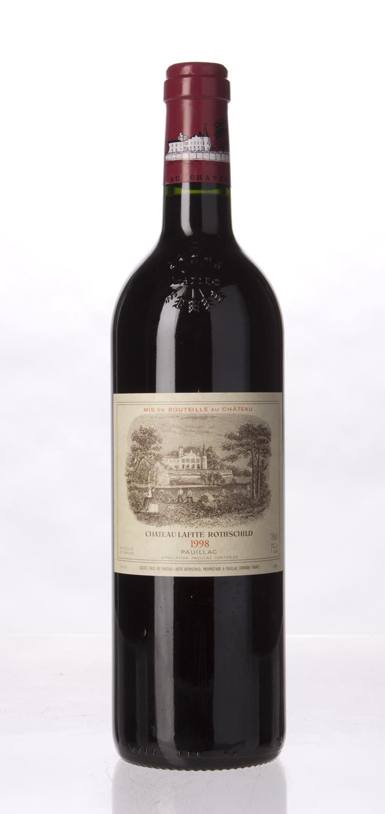 Lafite Rothschild 1998, 750mL (WA98) from The BPW - Merchants of rare and fine wines.