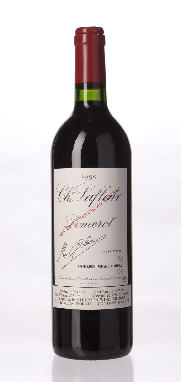 Lafleur 1998, 750mL (WS96) from The BPW - Merchants of rare and fine wines.