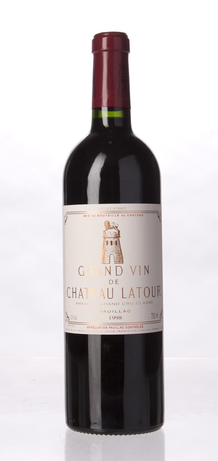 Latour 1998, 750mL (WA90, ST91) from The BPW - Merchants of rare and fine wines.