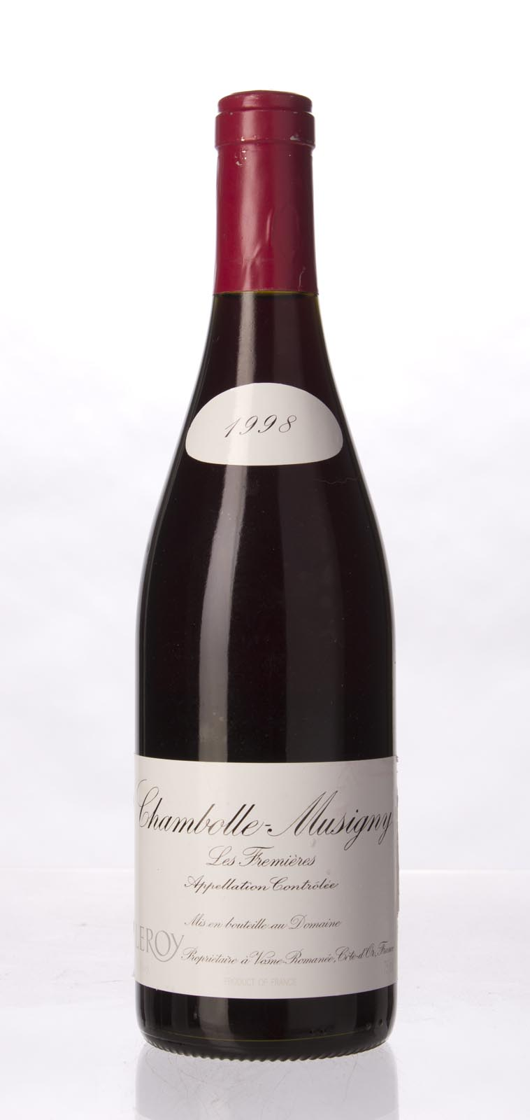 Leroy Chambolle Musigny les Fremieres 1998, 750mL (ST90-93) from The BPW - Merchants of rare and fine wines.
