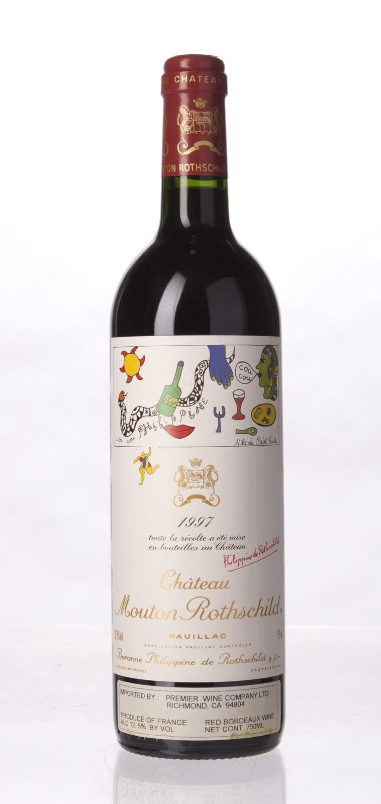 Mouton Rothschild 1997, 750mL (WA90, ST90-91) from The BPW - Merchants of rare and fine wines.