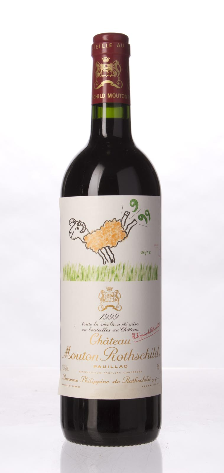 Mouton Rothschild 1999, 750ml (WA93) from The BPW - Merchants of rare and fine wines.