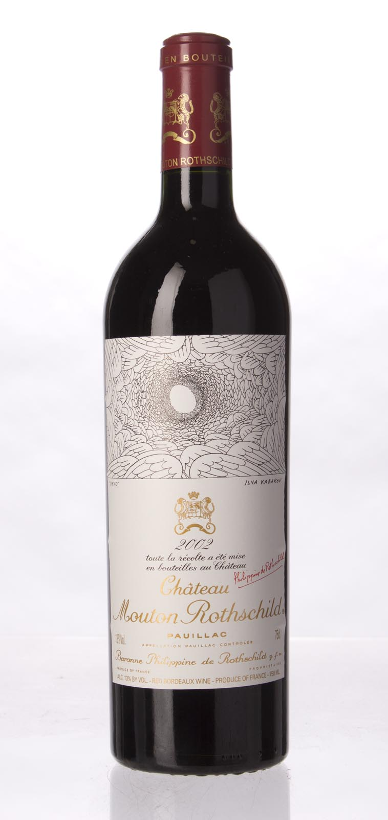 Mouton Rothschild 2002, 750mL (WA93, ST94) from The BPW - Merchants of rare and fine wines.
