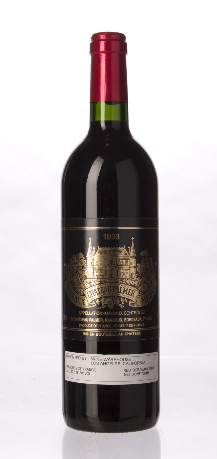 Palmer 1998, 750mL (WA91, ST90-92) from The BPW - Merchants of rare and fine wines.