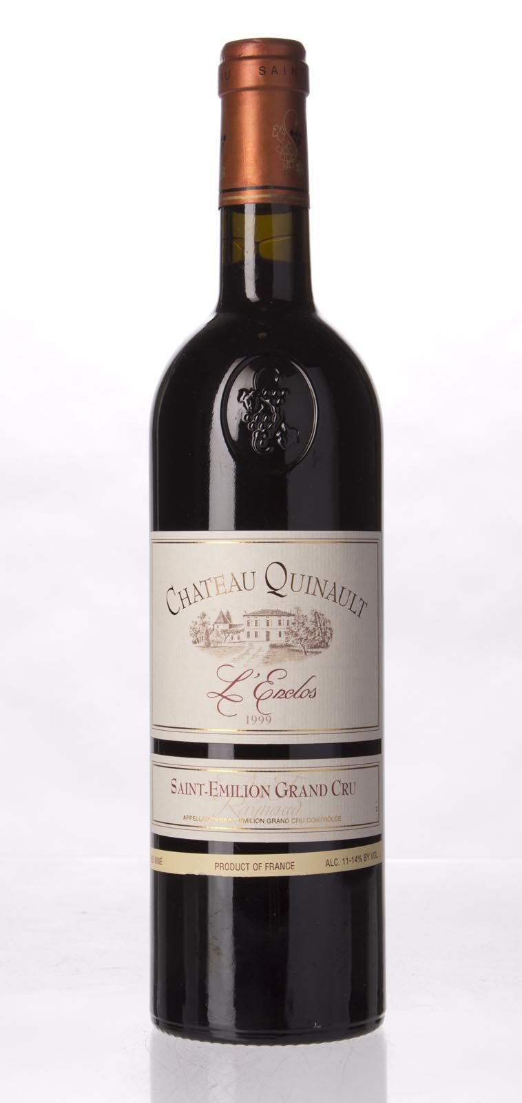 Quinault l`Enclos 1999, 750mL (WA91, ST92) from The BPW - Merchants of rare and fine wines.