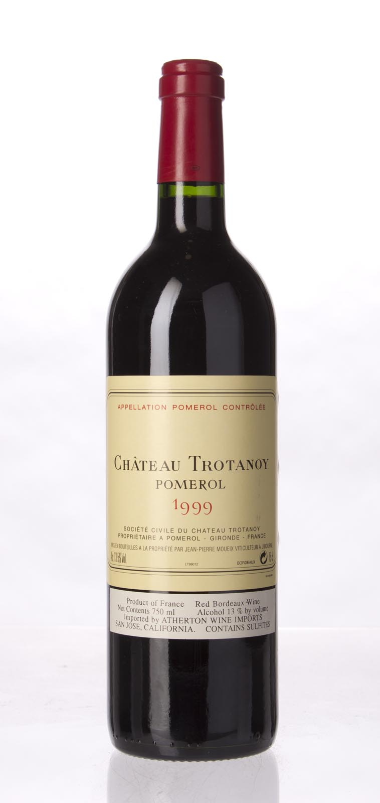 Trotanoy 1999, 750mL (WA89) from The BPW - Merchants of rare and fine wines.