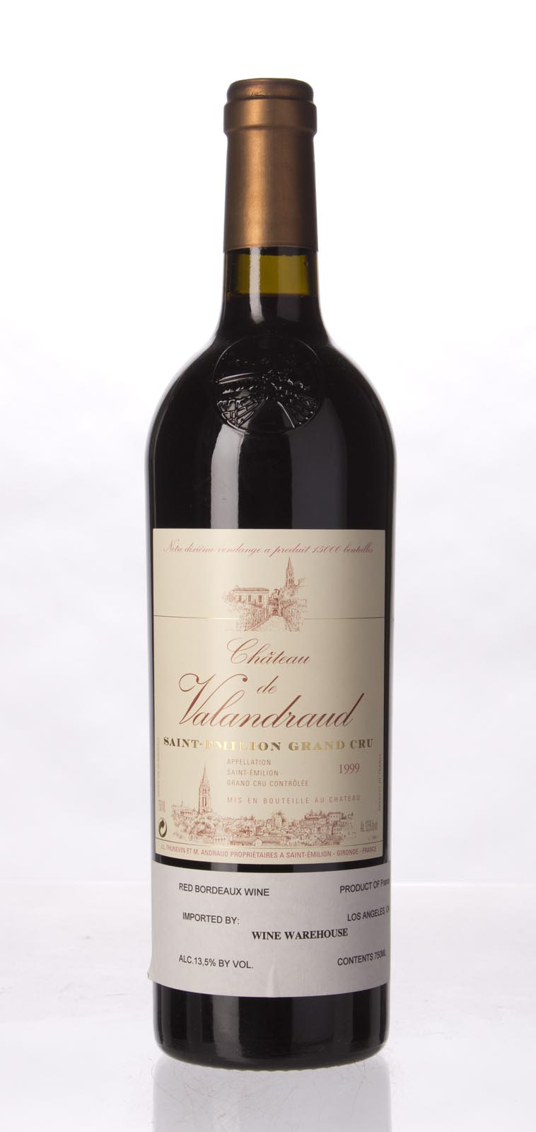 Valandraud 1999, 750mL (ST91-92) from The BPW - Merchants of rare and fine wines.