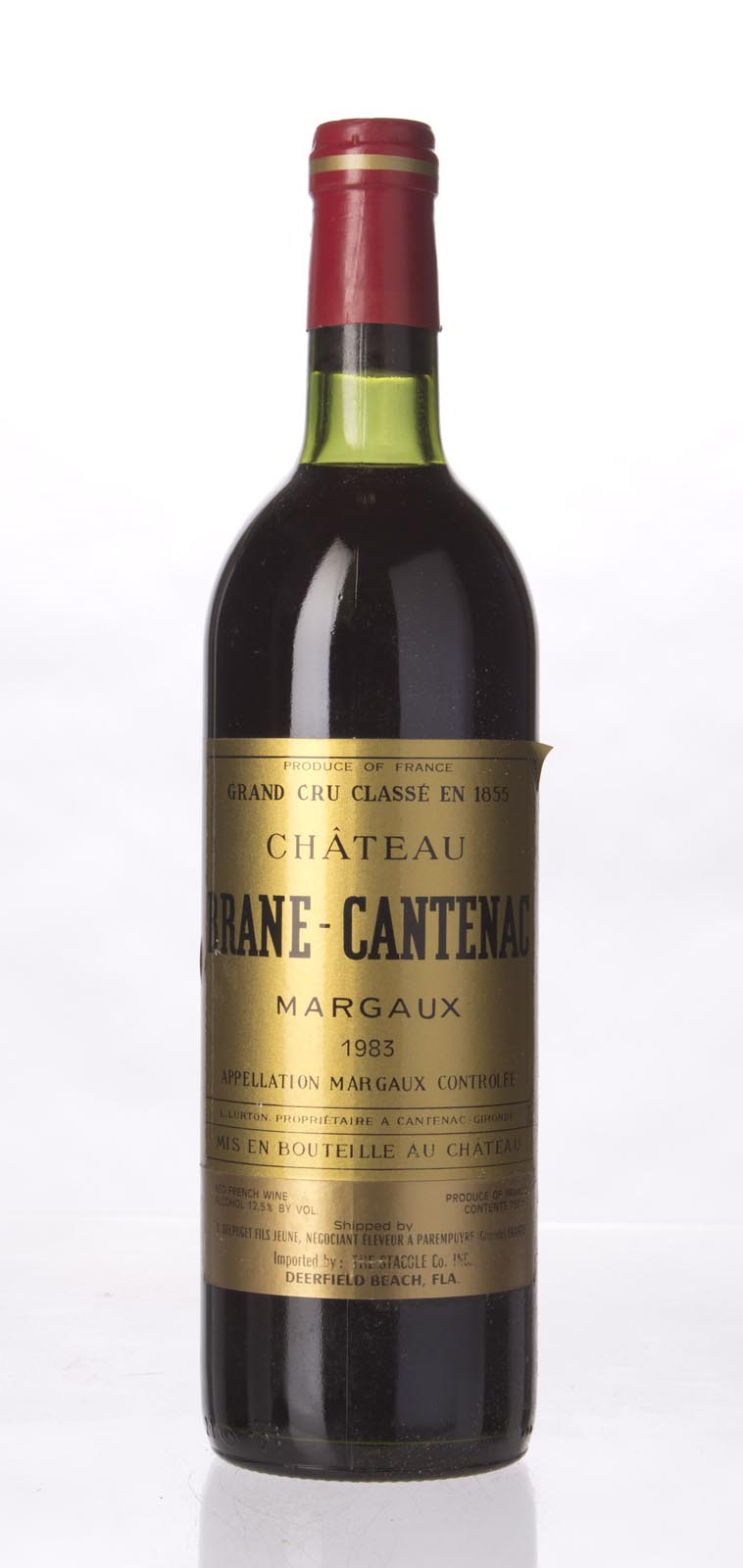 Brane Cantenac 1983, 750mL (WS94) from The BPW - Merchants of rare and fine wines.