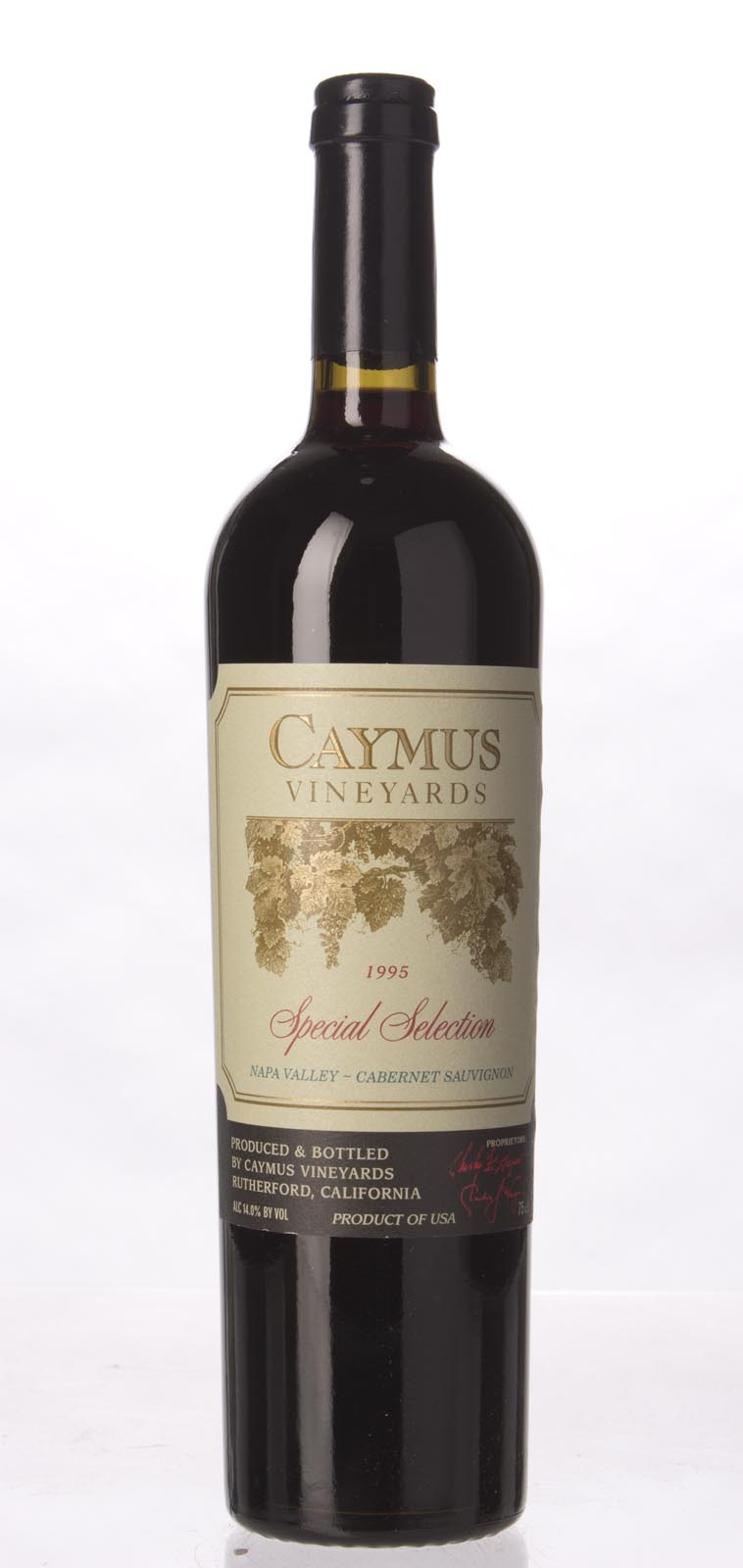Caymus Cabernet Sauvignon Special Selection 1995, 750mL (WS97) from The BPW - Merchants of rare and fine wines.