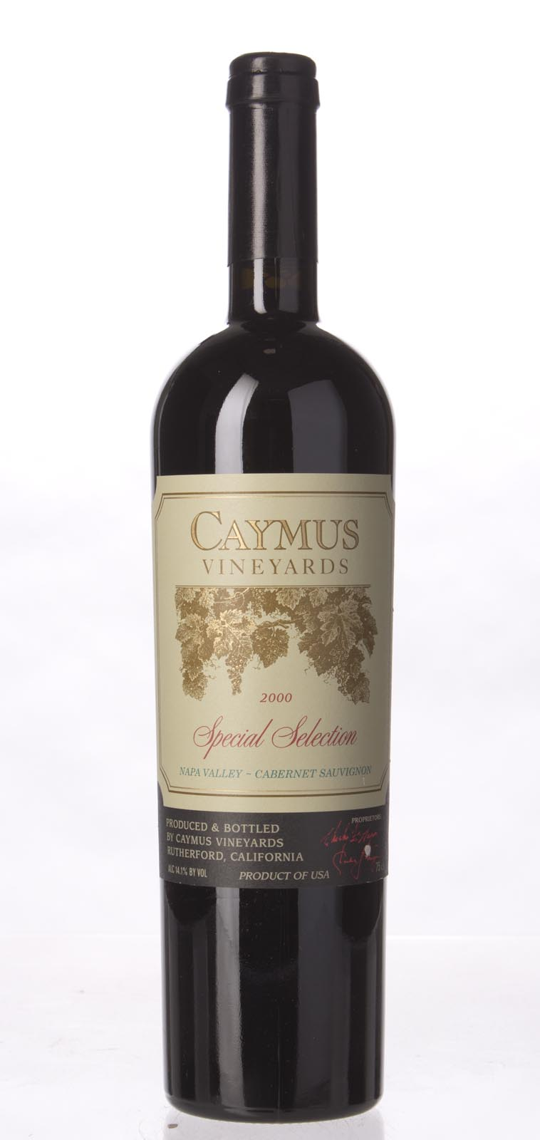 Caymus Cabernet Sauvignon Special Selection 2000, 750mL (WS92) from The BPW - Merchants of rare and fine wines.