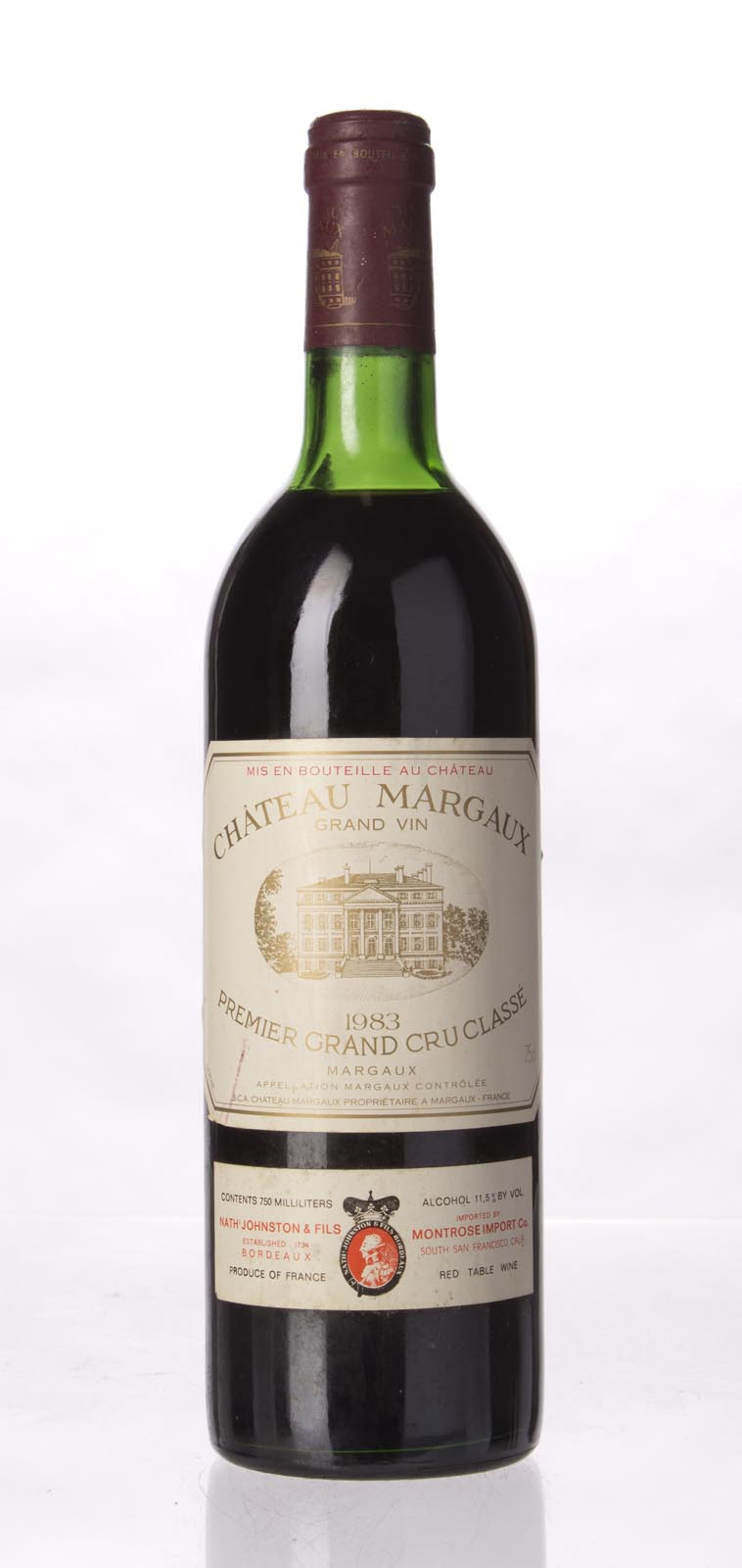 Chateau Margaux 1983, 750mL (WA96, ST95, WS99) from The BPW - Merchants of rare and fine wines.