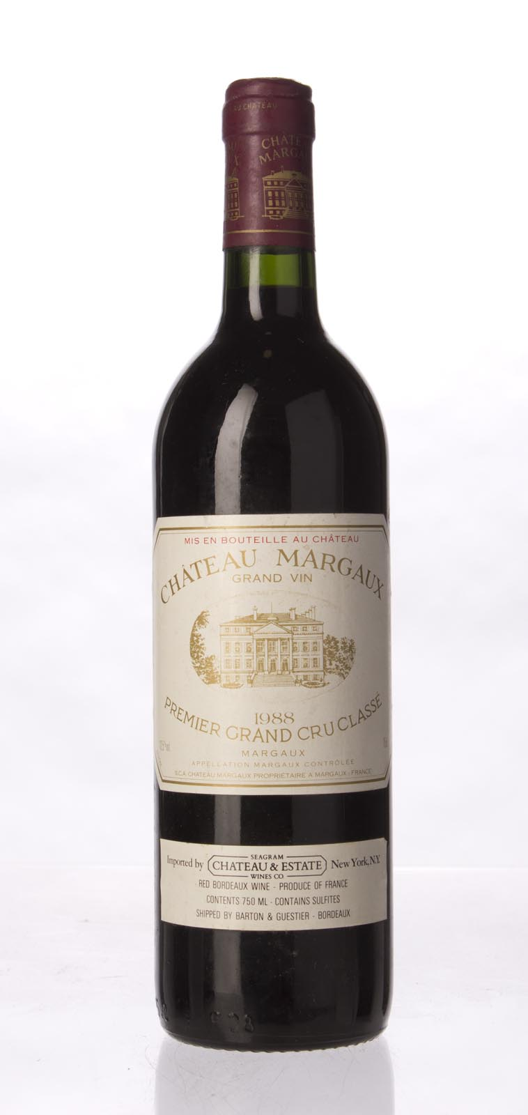 Chateau Margaux 1988, 750mL (WS97) from The BPW - Merchants of rare and fine wines.