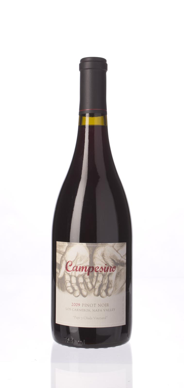 Campesino Pinot Noir Papi y Chula Vineyard 2009,  () from The BPW - Merchants of rare and fine wines.