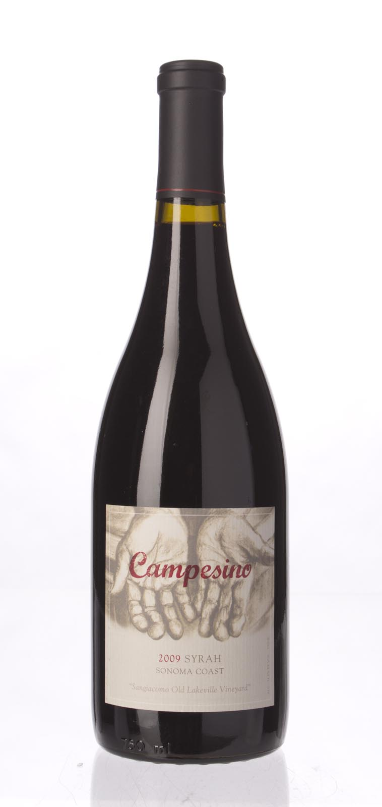 Campesino Syrah Old Lakeville 2009, 750ml (RR94) from The BPW - Merchants of rare and fine wines.