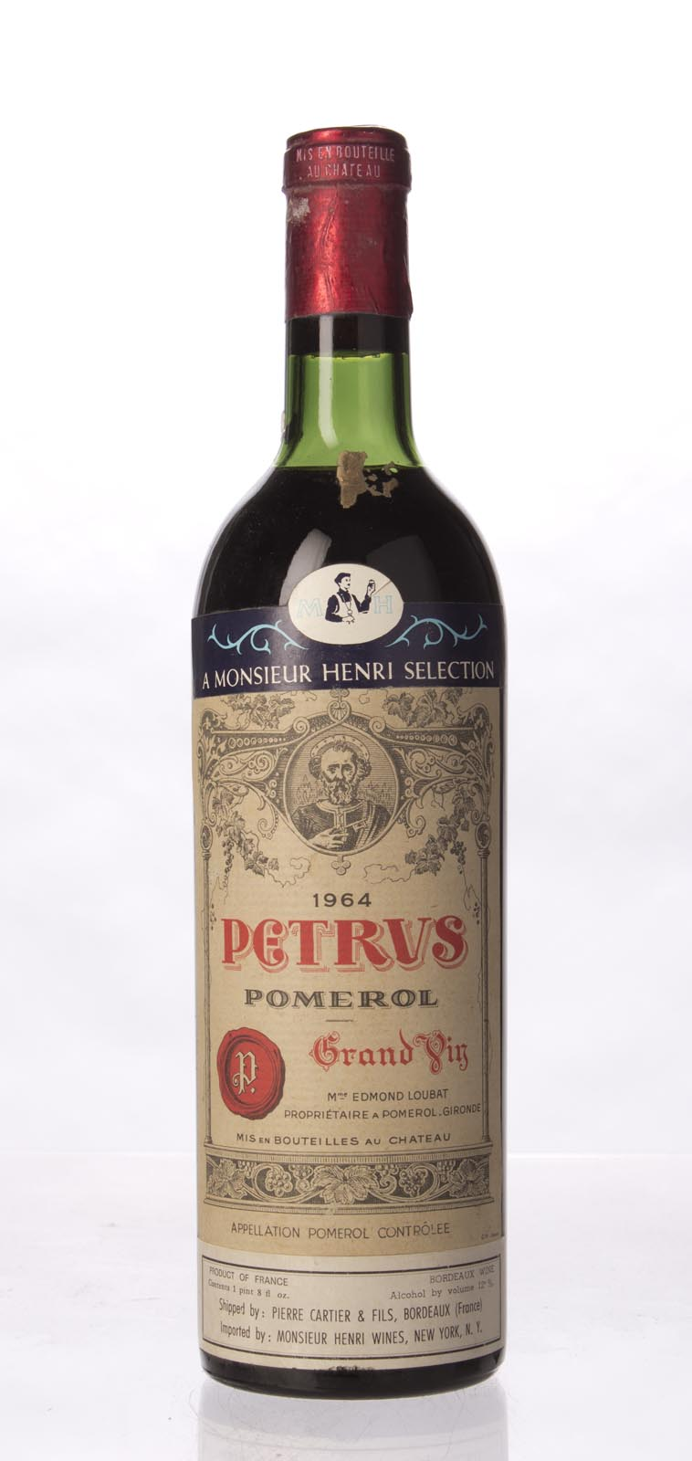 Petrus 1964, 750mL (WA97) from The BPW - Merchants of rare and fine wines.