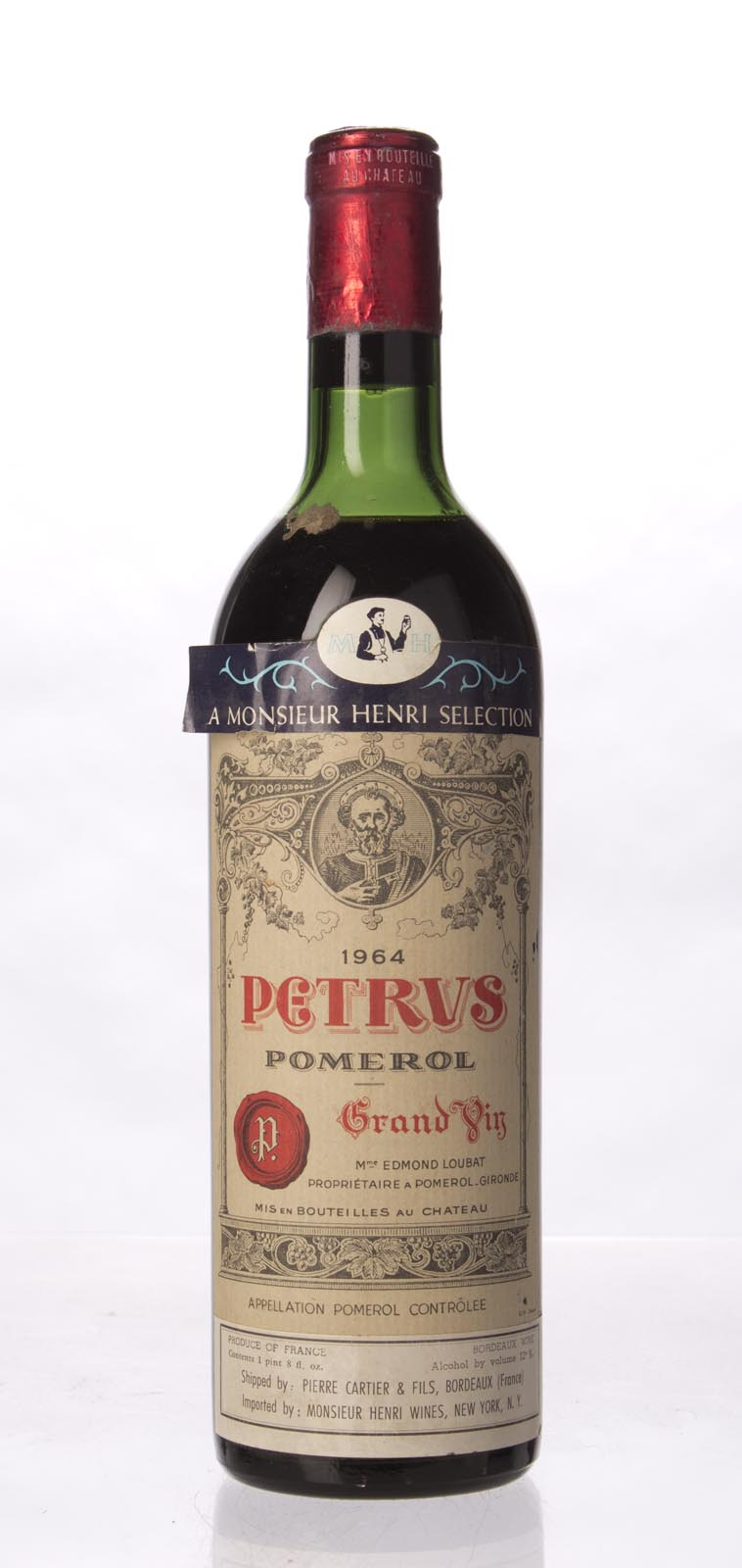 Petrus 1964,  (WA97) from The BPW - Merchants of rare and fine wines.