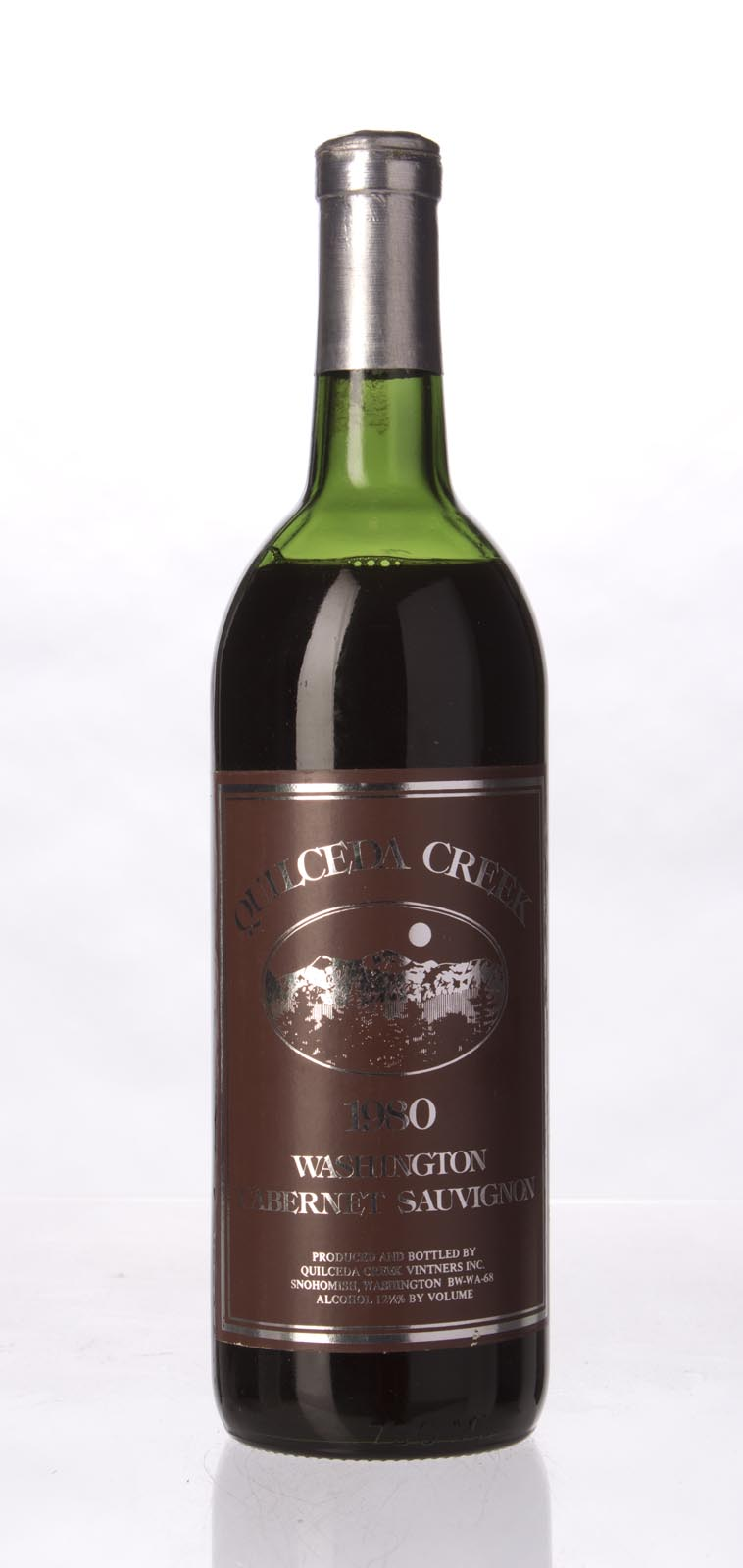 Quilceda Creek Cabernet Sauvignon 1980, 750mL () from The BPW - Merchants of rare and fine wines.