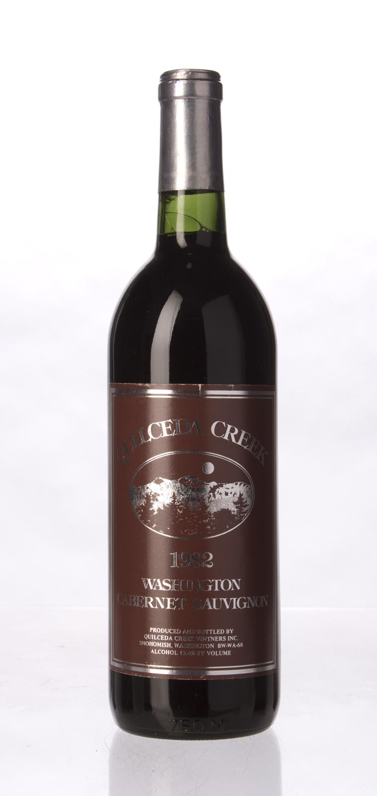 Quilceda Creek Cabernet Sauvignon 1982, 750mL () from The BPW - Merchants of rare and fine wines.