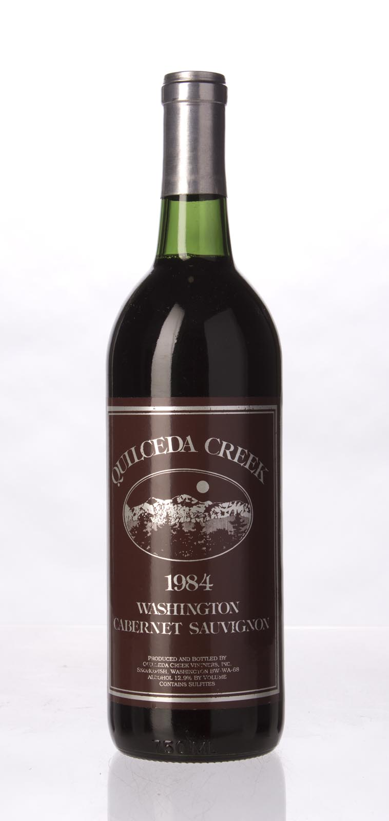 Quilceda Creek Cabernet Sauvignon 1984, 750mL (ST90) from The BPW - Merchants of rare and fine wines.