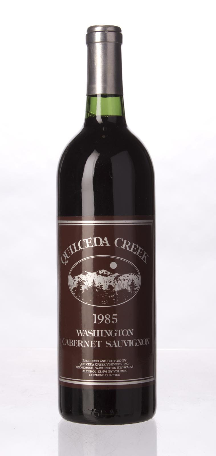 Quilceda Creek Cabernet Sauvignon 1985, 750mL (WA94) from The BPW - Merchants of rare and fine wines.