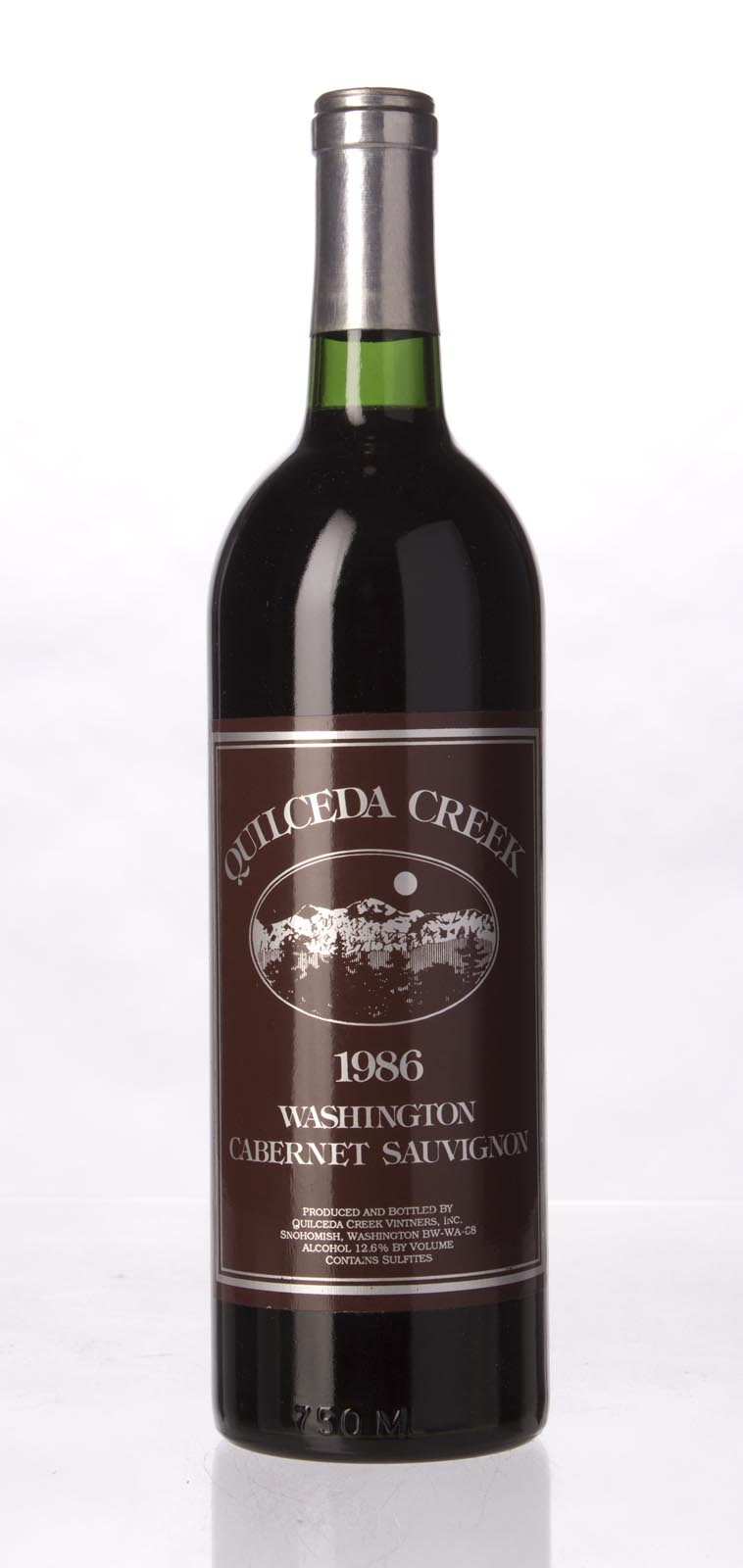 Quilceda Creek Cabernet Sauvignon 1986, 750mL (WA92) from The BPW - Merchants of rare and fine wines.