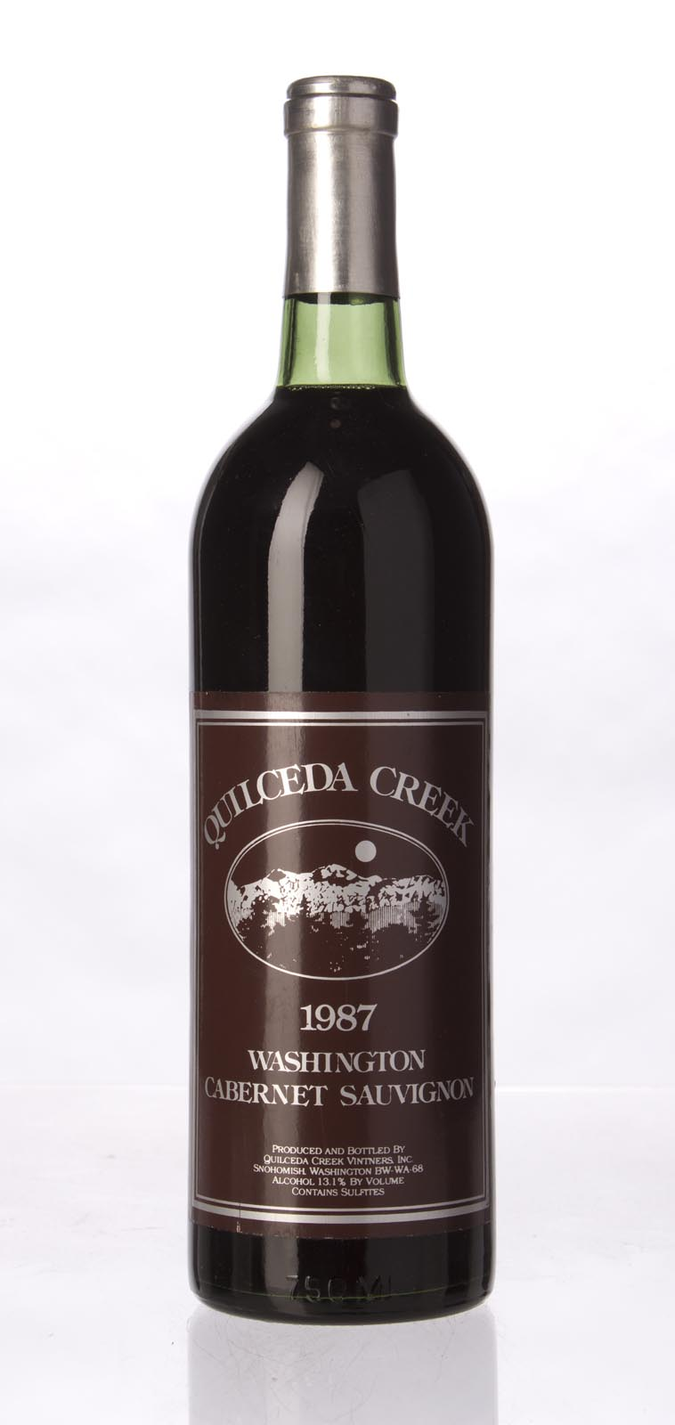Quilceda Creek Cabernet Sauvignon 1987, 750mL (WA93) from The BPW - Merchants of rare and fine wines.