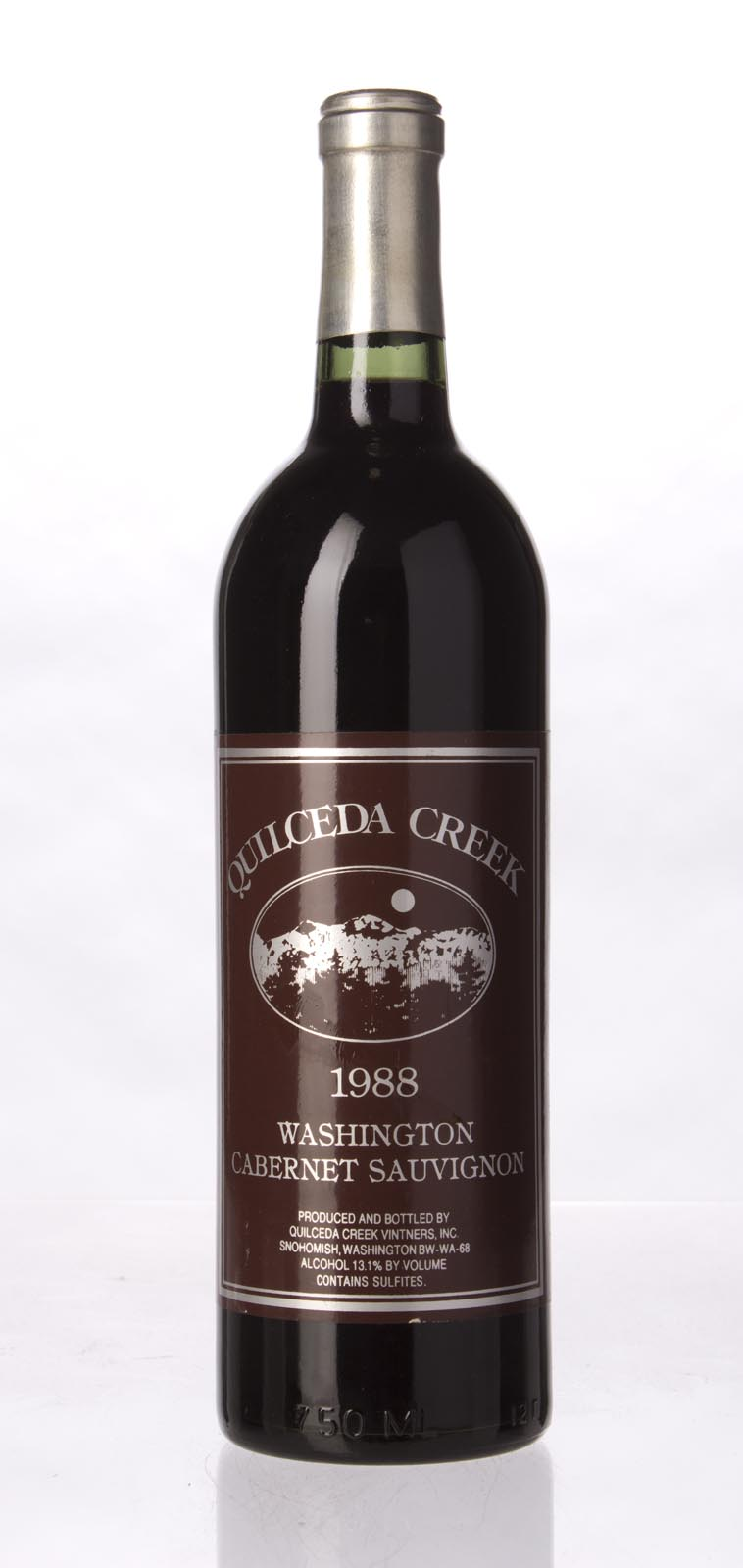 Quilceda Creek Cabernet Sauvignon 1988, 750mL () from The BPW - Merchants of rare and fine wines.