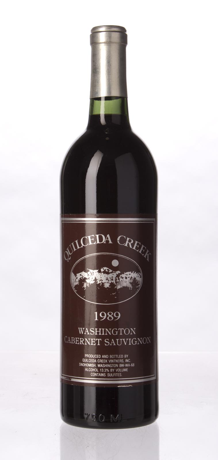 Quilceda Creek Cabernet Sauvignon 1989, 750mL (WA88) from The BPW - Merchants of rare and fine wines.