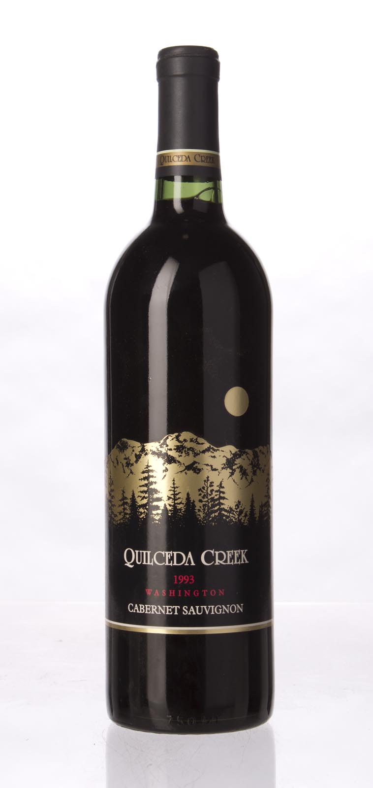 Quilceda Creek Cabernet Sauvignon 1993, 750mL (WS91) from The BPW - Merchants of rare and fine wines.