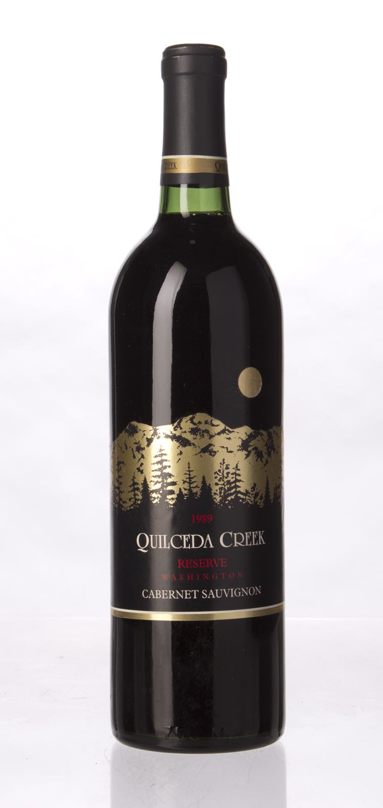 Quilceda Creek Cabernet Sauvignon Reserve 1989, 750mL (WA96) from The BPW - Merchants of rare and fine wines.