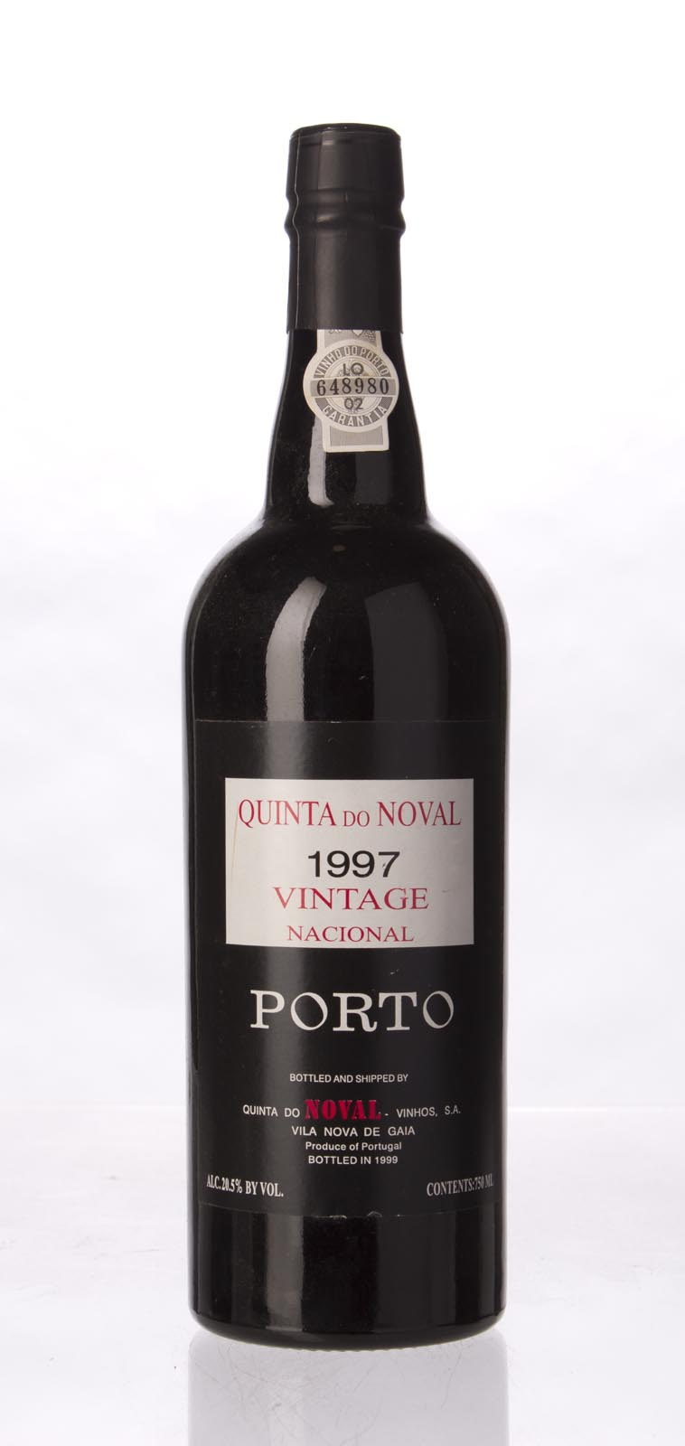 Quinta do Noval Nacional Vintage Port 1997, 750mL (WA100, ST97, WS98) from The BPW - Merchants of rare and fine wines.