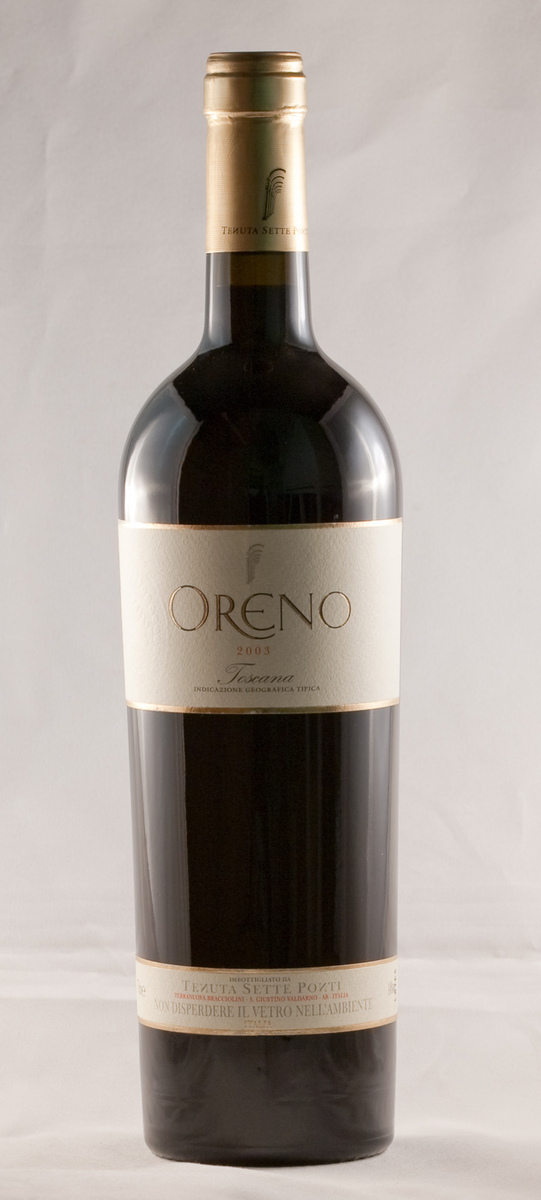 Sette Ponti Oreno 2011,  (JS96) from The BPW - Merchants of rare and fine wines.
