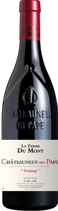 La Ferme du Mont Chateauneuf du Pape Vendange 2010,  (WA93) from The BPW - Merchants of rare and fine wines.