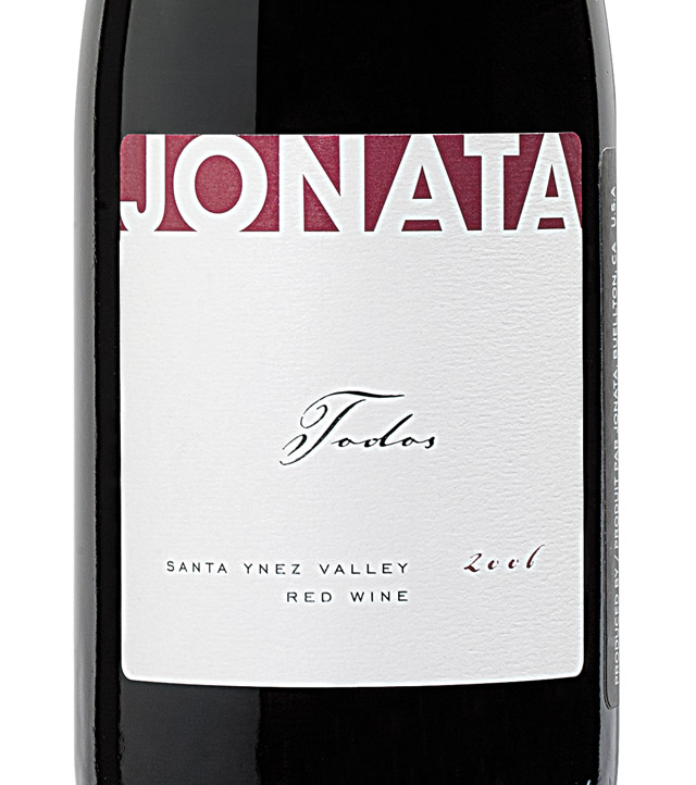 Jonata Proprietary Red Todos 2010, 750ml (WA95) from The BPW - Merchants of rare and fine wines.