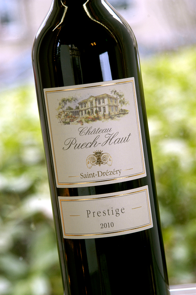 Chateau Puech Haut Coteaux du Languedoc Prestige 2010, 750ml (RR94) from The BPW - Merchants of rare and fine wines.