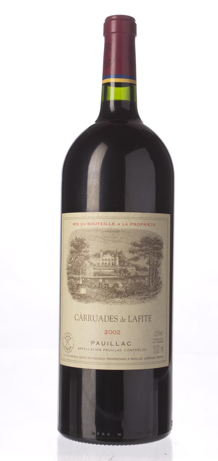 Carruades de Lafite 2002, 1.5L () from The BPW - Merchants of rare and fine wines.