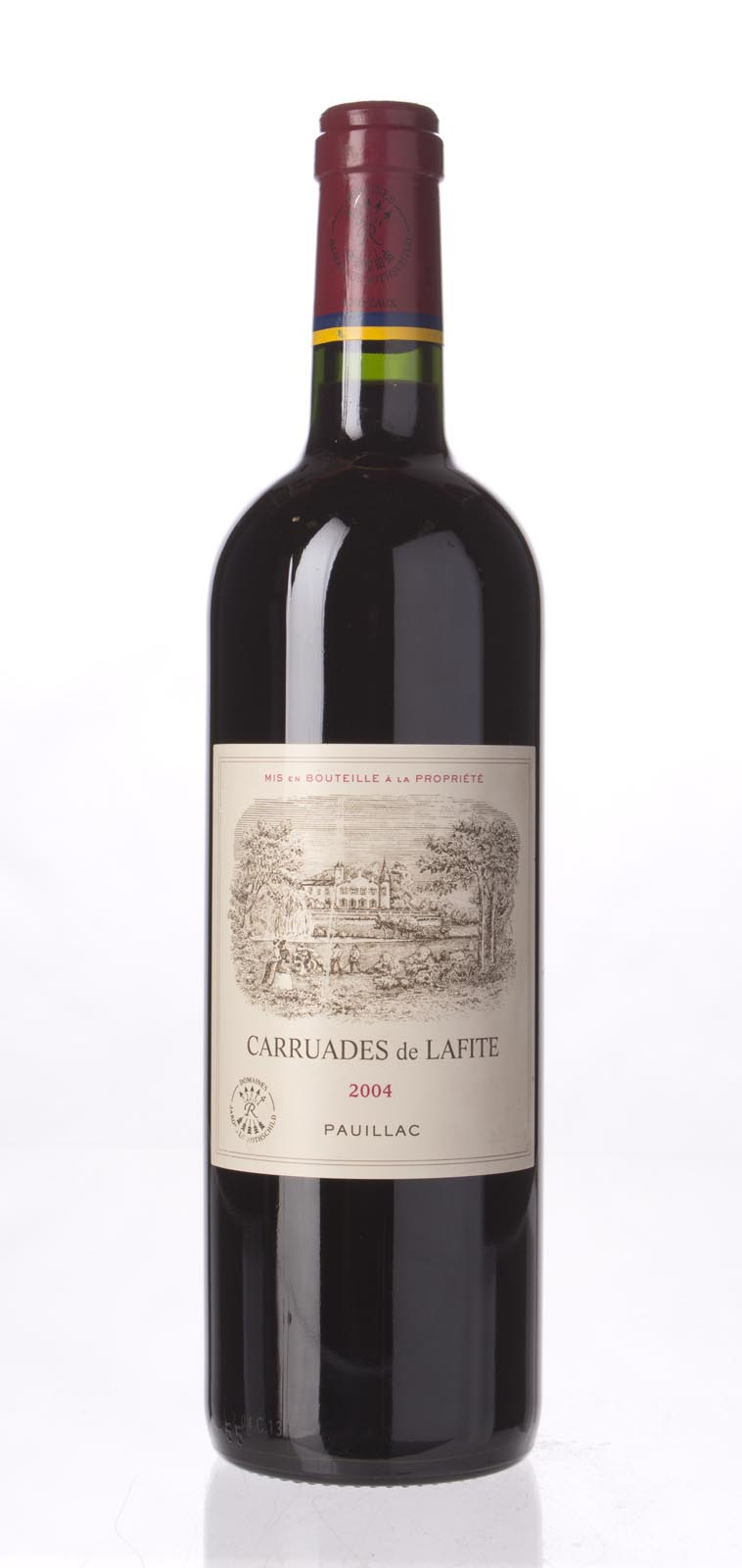 Carruades de Lafite 2004,  (WA89-90, ST88) from The BPW - Merchants of rare and fine wines.