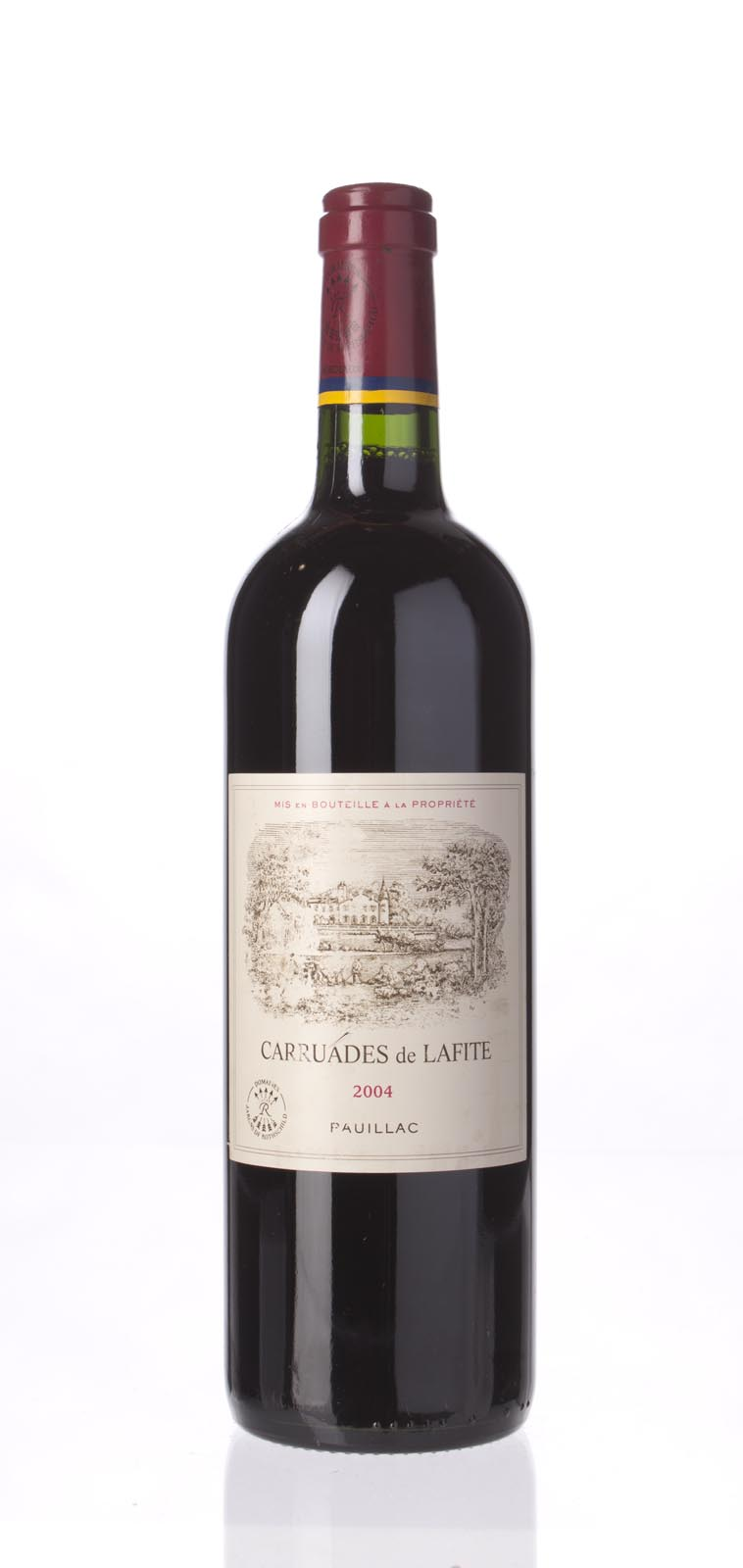 Carruades de Lafite 2004, 750mL (WA89-90, ST88) from The BPW - Merchants of rare and fine wines.