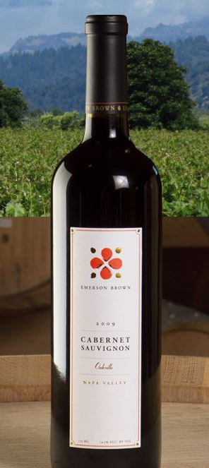 Emerson Brown Cabernet Sauvignon Oakville 2009, 750ml () from The BPW - Merchants of rare and fine wines.