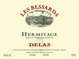 Delas Freres Hermitage les Bessards 2011,  (WA96-100) from The BPW - Merchants of rare and fine wines.