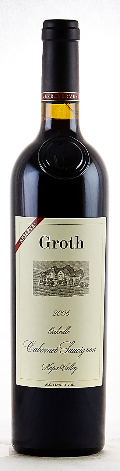 Groth Vineyards Cabernet Sauvignon Reserve 2009,  (WE93) from The BPW - Merchants of rare and fine wines.