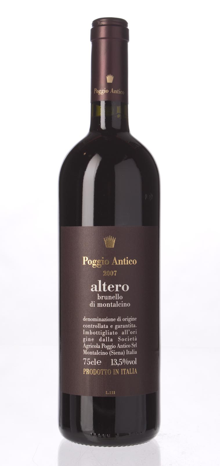 Poggio Antico Brunello di Montalcino Altero 2007, 750ml (JS98) from The BPW - Merchants of rare and fine wines.