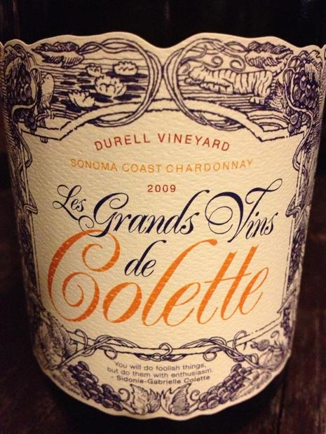 Colette Chardonnay Durell Vineyard 2009,  () from The BPW - Merchants of rare and fine wines.