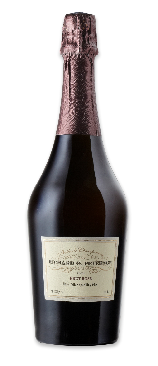 Richard G. Peterson Brut Rose Napa Valley 2004,  () from The BPW - Merchants of rare and fine wines.