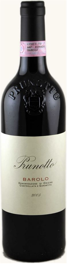 Prunotto Barolo 2009,  (WA94) from The BPW - Merchants of rare and fine wines.