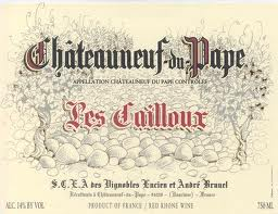 Les Cailloux Chateauneuf du Pape 2010, 750ml (WA93, WS93) from The BPW - Merchants of rare and fine wines.