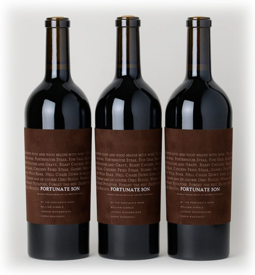Fortunate Son (Hundred Acre) Cabernet Sauvignon 2009,  (WA94, ST92) from The BPW - Merchants of rare and fine wines.