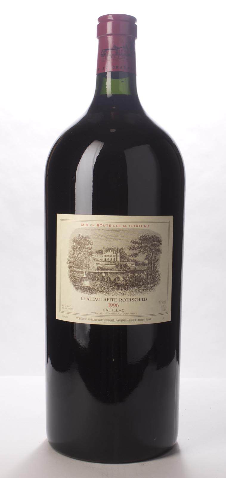 Lafite Rothschild 1996, 6L (WA100) from The BPW - Merchants of rare and fine wines.