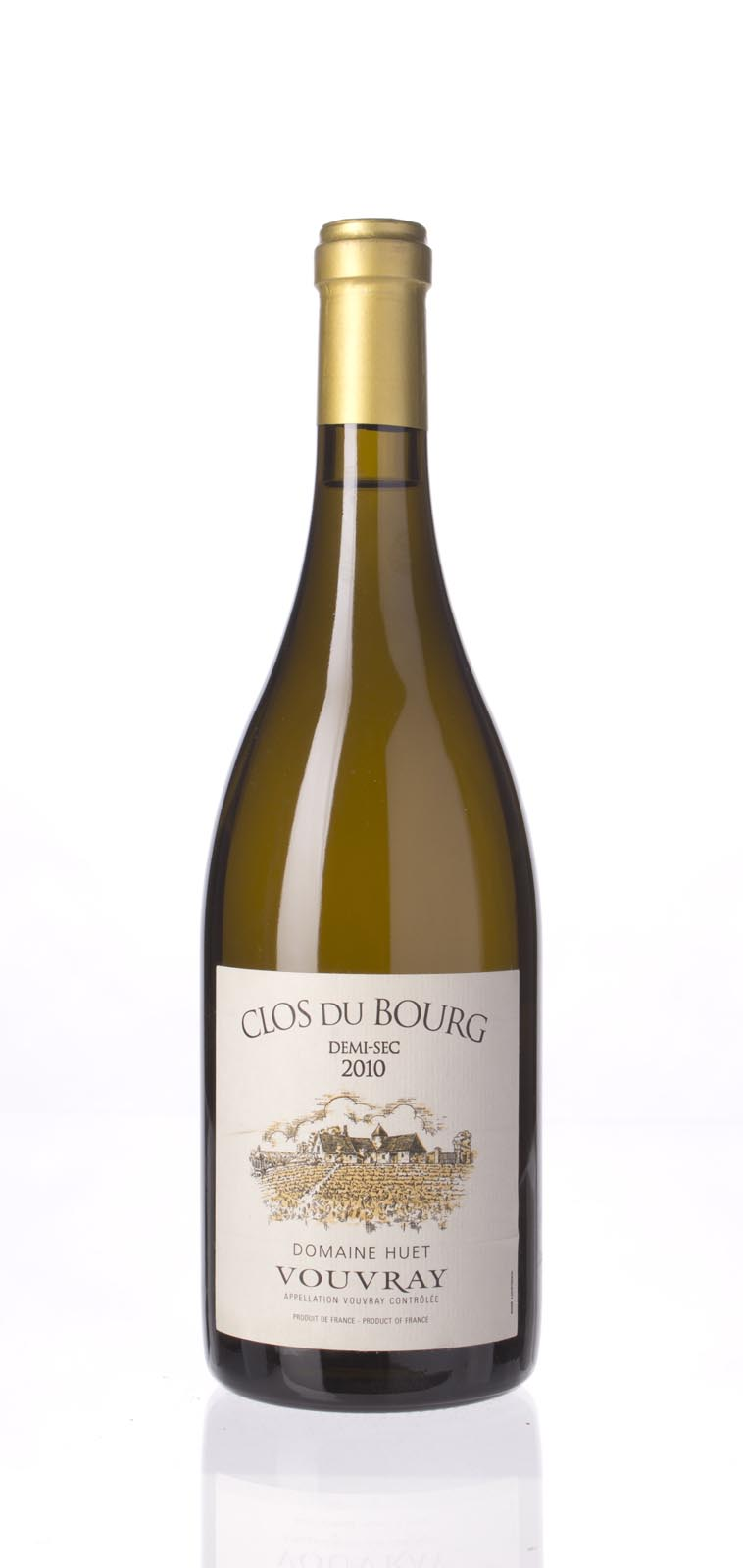 Domaine Huet  Vouvray Demi Sec Clos du Bourg 2010, 750mL (JG96) from The BPW - Merchants of rare and fine wines.